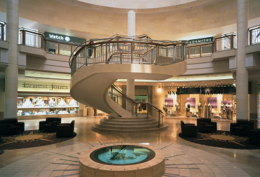 Галерея дизайнов. Интерьеры торговых центров